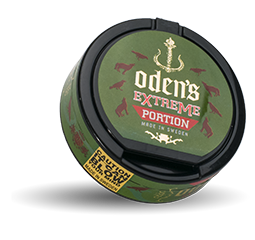 Oden's Creamy Wintergreen Extreme Portion 18g