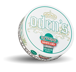 Oden's Double Mint Extreme White Dry Slim 10g