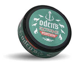 Oden's Double Mint Extreme White Portion 18g