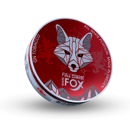 White Fox Full Charge Red All White Portion 15g