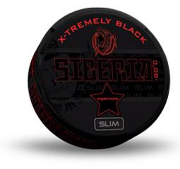 Siberia Slim Serie 80 Degrees Black 20g